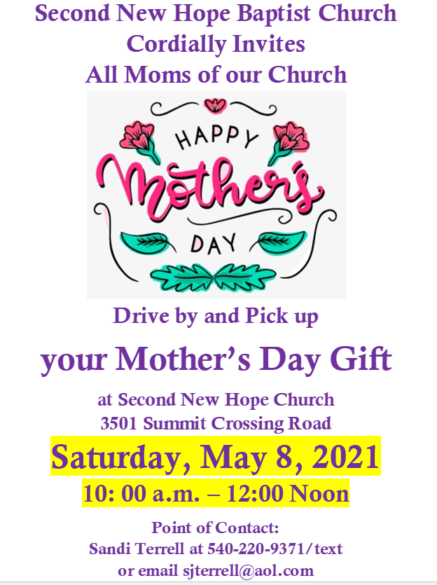 Mother's Day SNH 2021